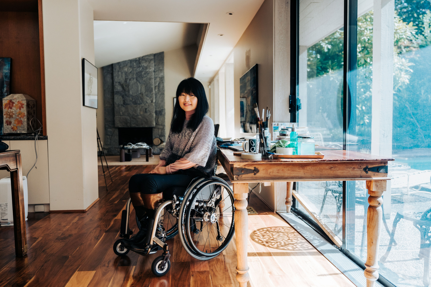 Keiko Honda started the Neighbourhood Small Grants project called Personal Narratives for Future Generations.