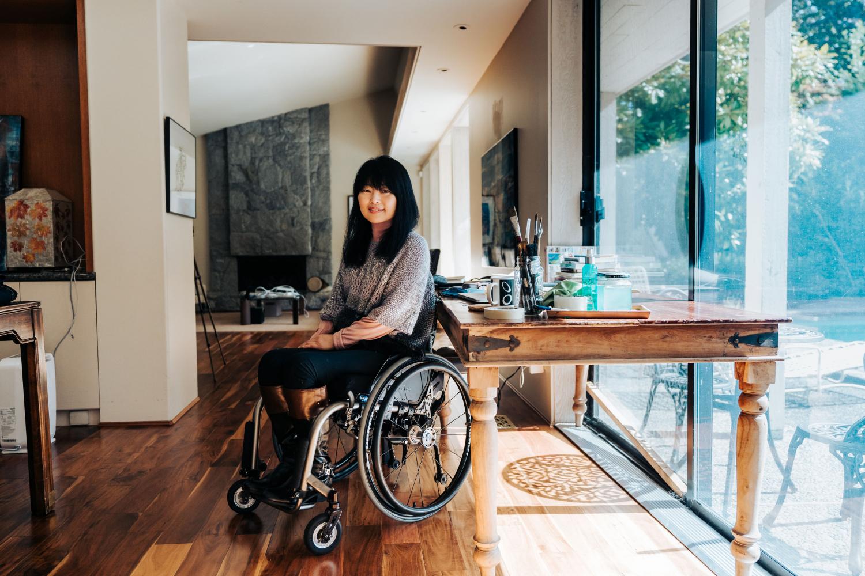 Keiko Honda started a Neighbourhood Small Grants project