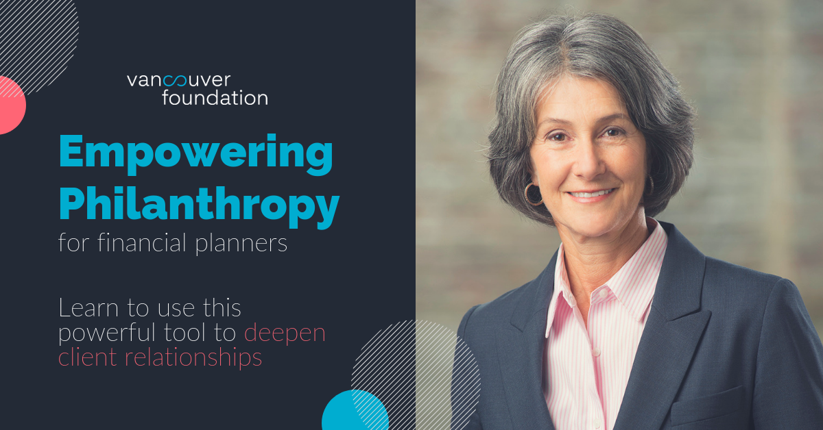 Janice Loomer Margolis on October 18, 2018 - Empowering Philanthropy: Benefits for Your Clients and Your Business