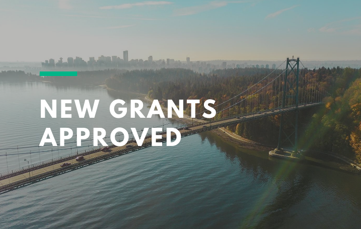 New Grants Approved for Spring 2020.