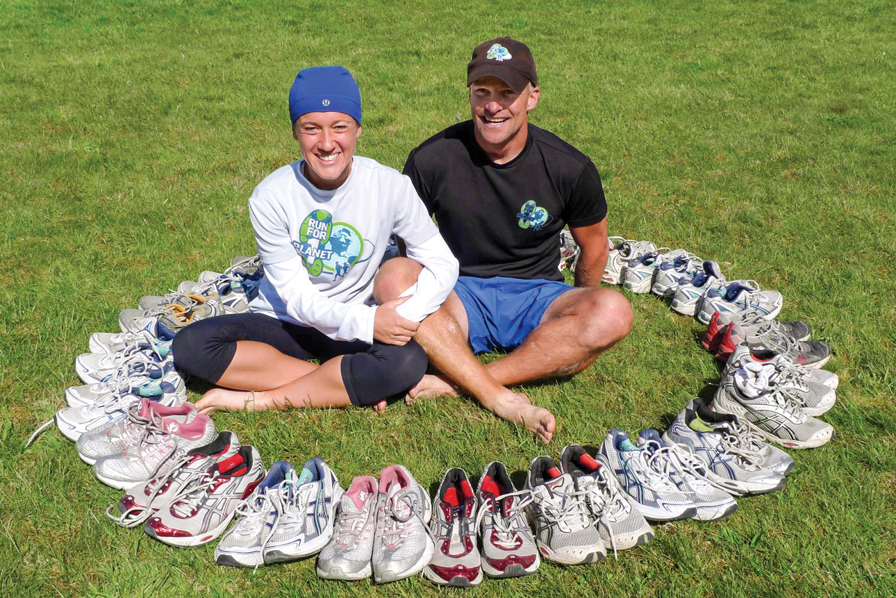 Stephanie Tait and Matt Hill, Run for One Planet