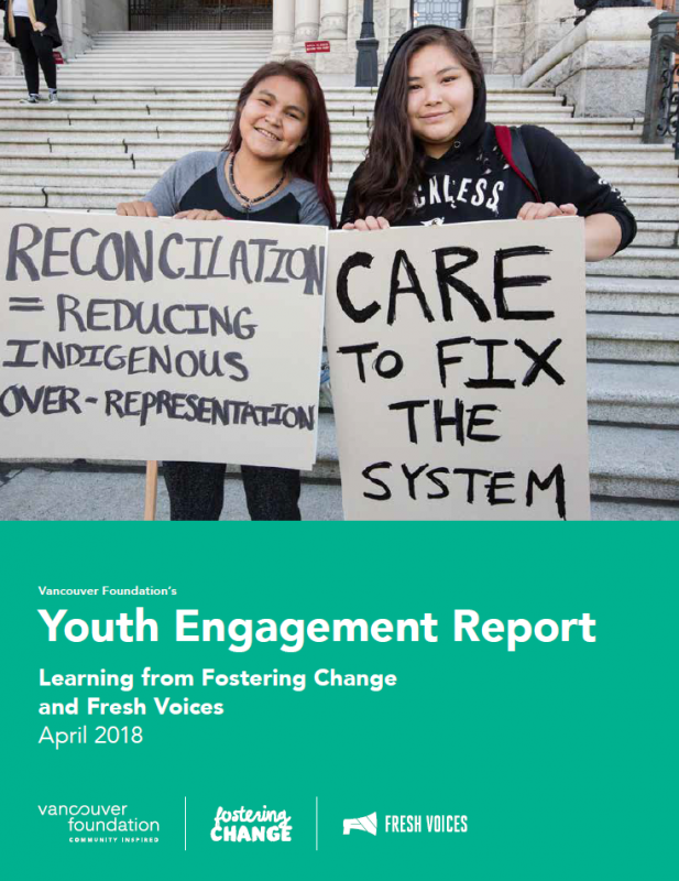 Youth Engagement Report cover photo