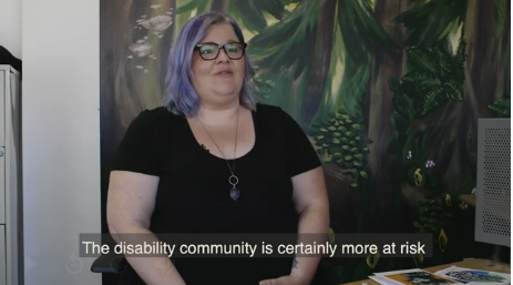 Kait Blake is the administrative director of Kickstart Disability.