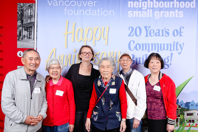 Project leaders at the 2019 Neighbourhood Small Grants program.