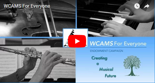 West Coast Amateur Musicians Society Fund video