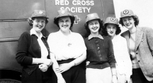 Red Cross Society decades ago