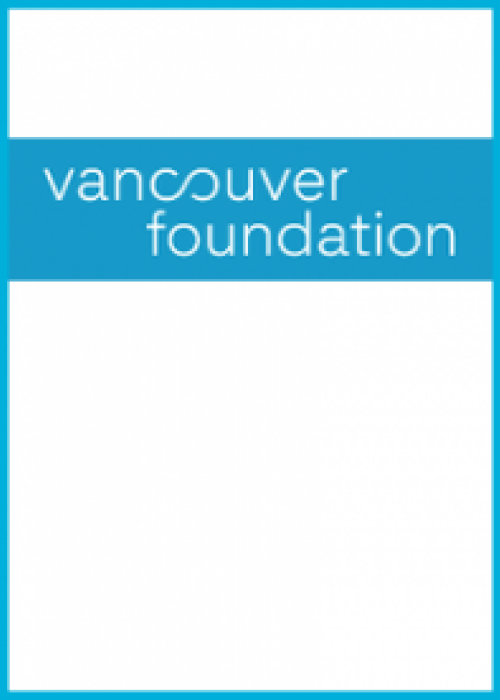 "A report cover with title ""Vancouver Foundation"""
