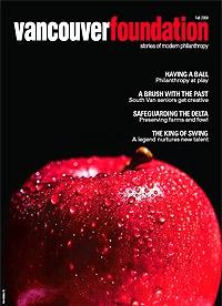 Vancouver Foundation Magazine Fall 2009