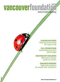 Vancouver Foundation Magazine Spring 2011