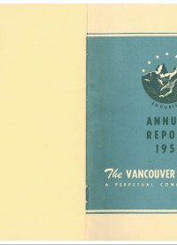 Vancouver Foundation Annual Report 1951