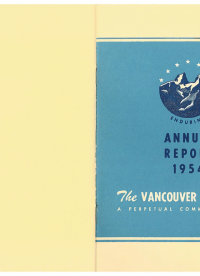 Vancouver Foundation Annual Report 1954